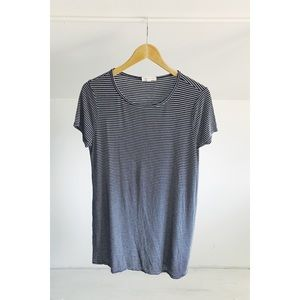 Socialite Striped T-shirt Dress